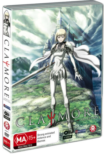 Claymore DVD Complete Collection (6 Disc Set) Anime Rare - AUST REGION 4