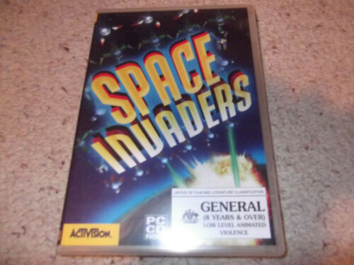 space invaders pc cd rom game