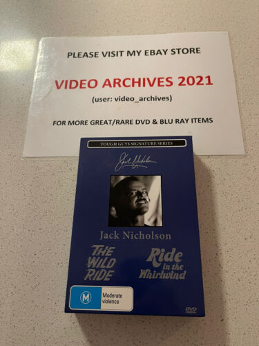 Jack Nicholson: The Wild Ride, Ride in the Whirlwind DVD Signature Series