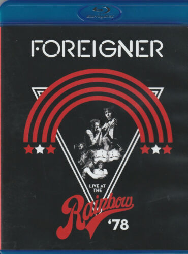 FOREIGNER - LIVE AT THE RAINBOW '78 (1 X BLU-RAY)