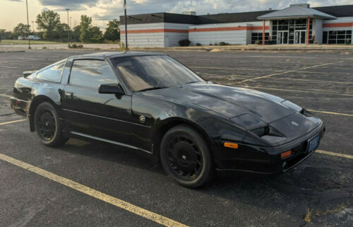 1989 Nissan 300ZX Turbo 1989 Nissan 300ZX Z31 Turbo in all black. What could be more 80s?