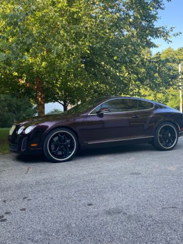 2005 Bentley Continental GT 2005 Bentley Continental Coupe Blue AWD Automatic GT