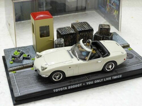 Toyota 2000GT James Bond 007 You Only Live Twice 1:43 Voiture Model Car DY007AP