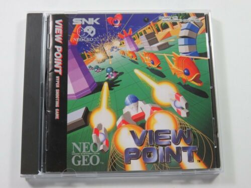 VIEWPOINT NEO-GEO CD (NGCD) EURO (COMPLETE - VERY GOOD CONDITION)