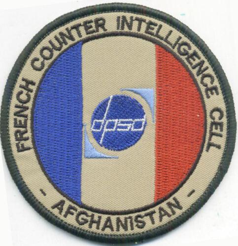 DPSD FRENCH COUNTER INTELLIGENCE CELL - CELLULE CONTRE ESPIONNAGE AFGHA