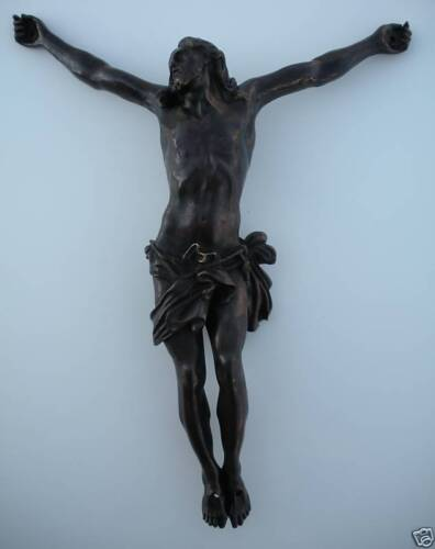 17th Cent. BRONZE JESUS CHRIST Att. Alessandro Algardi!