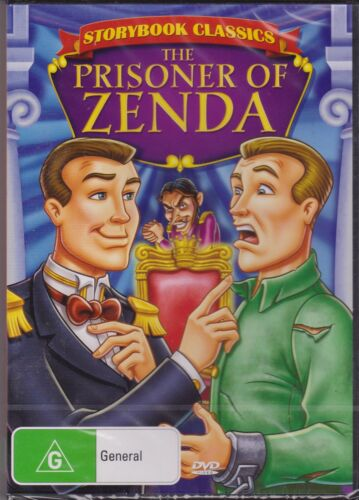 THE PRISONER OF ZENDA - ANIMATION - A STORYBOOK CLASSIC - DVD