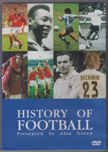 HISTORY OF FOOTBALL - PRESENTED BY ALAN GREEN - DVD