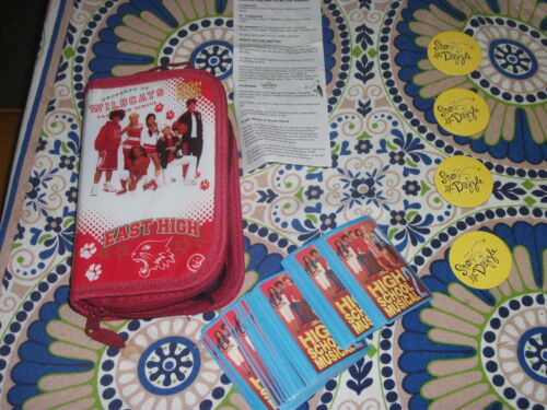 High School Musical 2 Star Dazzle Card Game Complete