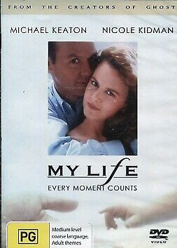 MY LIFE - EVERY MOMENT COUNTS - MICHAEL KEATON - NICOLE KIDMAN -  DVD - NEW -