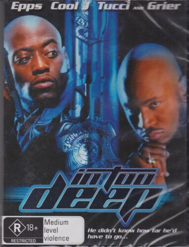 IN TOO DEEP - OMAR EPPS - LL COOL J - STANLEY TUCCI - DVD