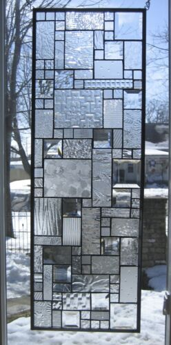 Tranquility Stained Glass Window Panel EBSQ Artist