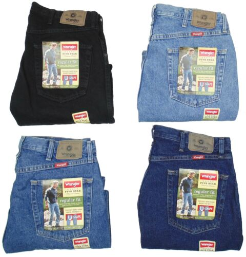 Wrangler Mens Jeans Five Star Regular Fit Many Sizes Many Colors New With Tags <br/> 1000-х покупателей в России! ~~ 100% Genuine Wranglers