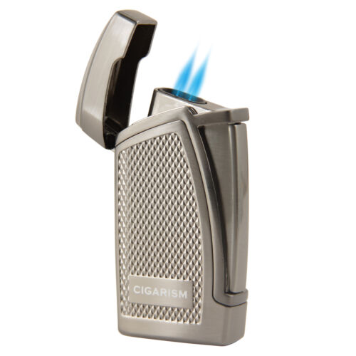 COHIBA Black Insect 4 torch flame Cigar cigarette Lighter with Cigar Punch