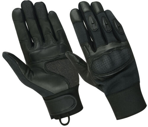TOUCH SCREEN TACTICAL KEVLAR CUT RESISTANT PATROL COMBAT ASSAULT SHOOTING GLOVES
