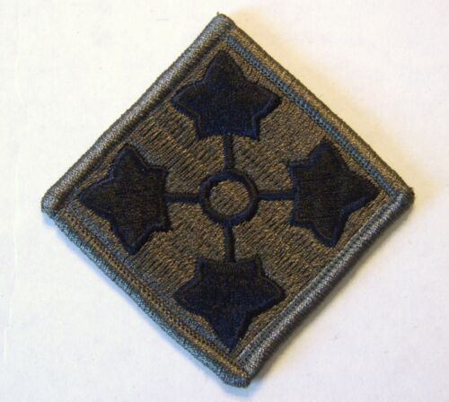 4th INFANTRY DIVISION PATCH SUBDUEDOther Militaria - 135