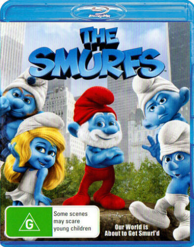 The Smurfs (2011) * Blu-ray Disc * NEW