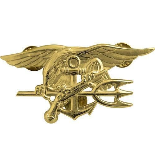 US NAVAL SPECIAL WARFARE UNIT TRIDENT EAGLE MILITARY EMBROIDERY PATCH