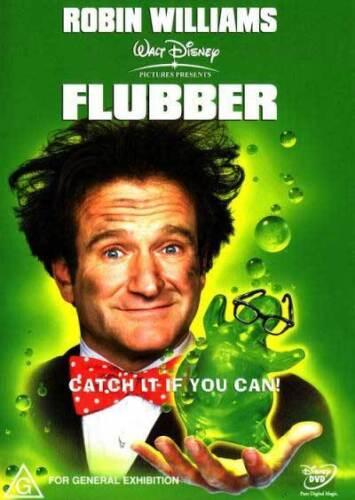 Flubber * NEW DVD * Robin Williams Marcia Gay Harden Christopher McDonald