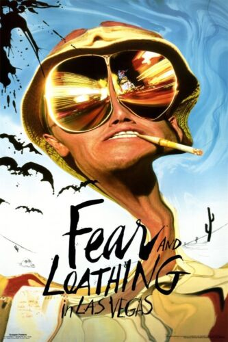 FEAR AND LOATHING IN LAS VEGAS - MOVIE POSTER - 24x36 DEPP THOMPSON 322
