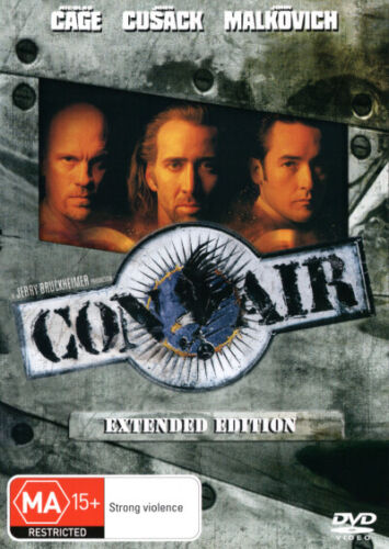 Con Air (Extended Edition)  - DVD - NEW Region 4