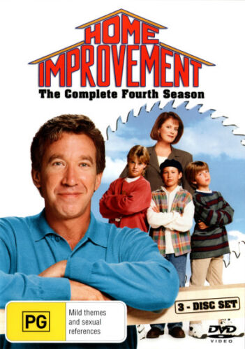 Home Improvement: Season 4 (3 Discs)  - DVD - NEW Region 4