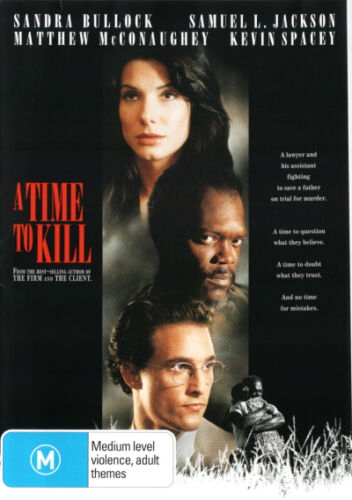 A Time to Kill  - DVD - NEW Region 4