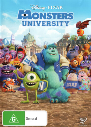 Monsters University  - DVD - NEW Region 4