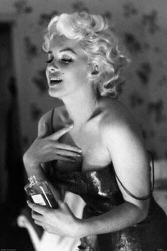 MARILYN MONROE - CHANEL NO 5 POSTER - 24x36 SHRINK WRAPPED - PERFUME SEXY 36445
