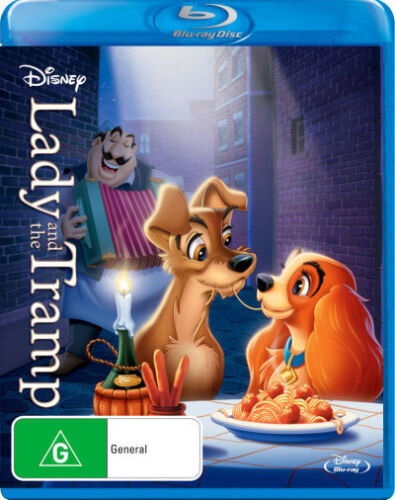 Lady and the Tramp * Blu-ray Disc * NEW