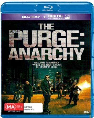 The Purge: Anarchy (Blu-ray / UV) NEW