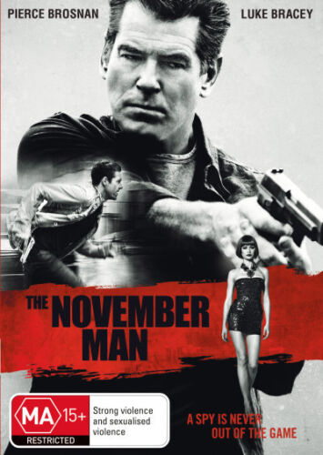 The November Man * NEW DVD * (Region 4 Australia) Pierce Brosnan Luke Bracey