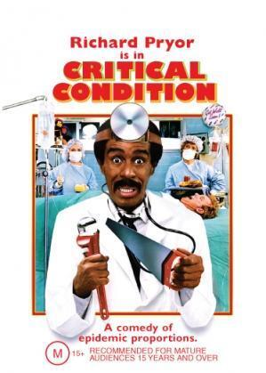 CRITICAL CONDITION - RICHARD PRYOR RACHEL TICOTIN COMEDY NEW DVD MOVIE SEALED