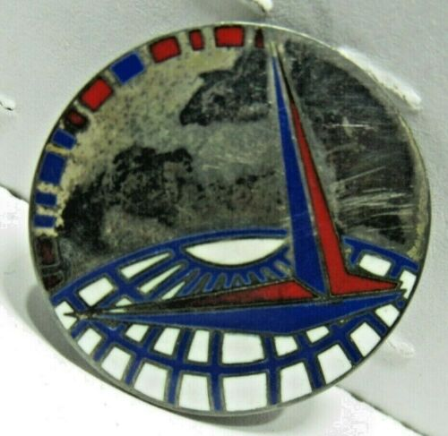 VTG WW2 MILITARY AIR FORCE TRANSPORT CMD STERLING SILVER PIN !RARE! Other Militaria - 135
