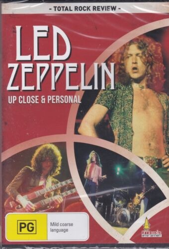 LED ZEPPELIN - UP CLOSE & PERSONAL - DVD