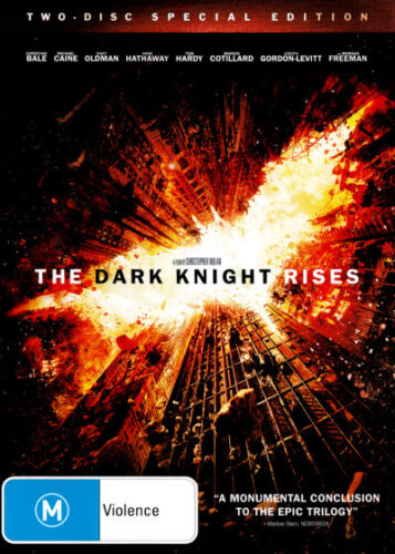 The Dark Knight Rises (2 Disc Special Edition) * NEW DVD * (Region 4 Australia)