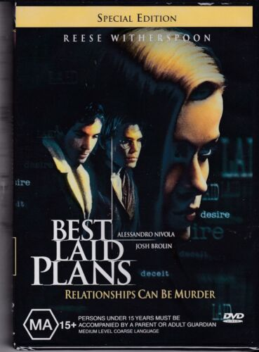 BEST LAID PLANS - Alessandro Nivola, Reese Witherspoon  - DVD -  NEW