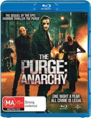 The Purge: Anarchy  - BLU-RAY - NEW Region B