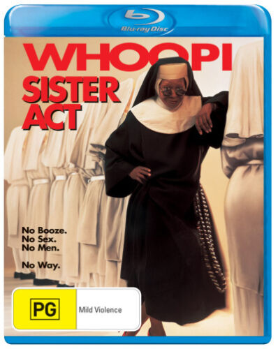 Sister Act * Blu-ray Disc * NEW