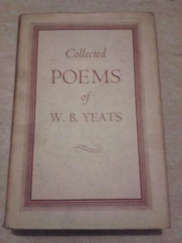 THE COLLECTED POEMS OF E. B. YEATS - 1952 - Macmillan