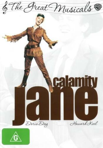 Calamity Jane (1953) (The Great Musicals)  - DVD - NEW Region 4