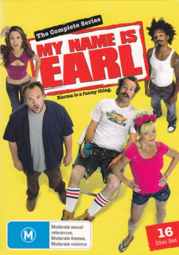 My Name Is Earl: The Complete Seasons 1 2 3 4 (16 Disc Box Set) NEW DVD REGION 4