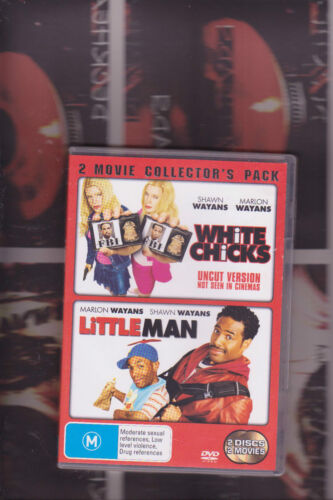 """white chicks/ little man (2 movie pack) classic WAYAN""""S comedy"""