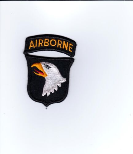 101st AIRBORNE PATCH WITH AIRBORNE TAB FULL COLOR:K6Other Militaria - 135