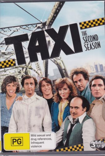 TAXI - THE SECOND SEASON on 4 DVD'S - 24 EPISODES -