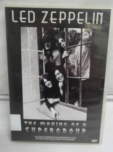 DVD - LED ZEPPELIN - THE MAKING OF A SUPERGROUP - REGION FREE - GREAT CONDITION