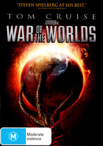 War of the Worlds (2005)  - DVD - NEW Region 4