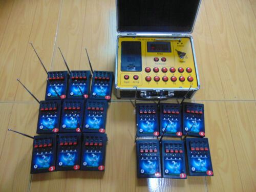 Free ship 60 Cues fireworks firing system digital switch Electric wirless remote