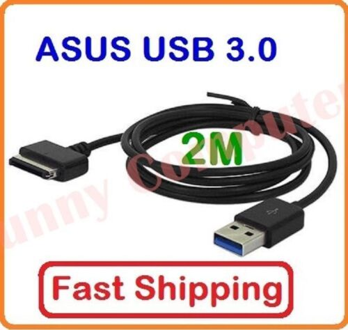 ASUS 2M USB Data Sync Cable Charger Cord For Tablet Eee Pad TF600t TF810C TF701t