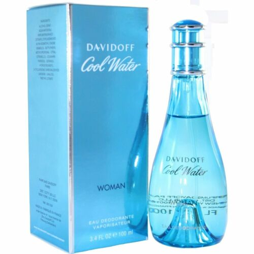 COOL WATER by Davidoff Perfume Deodorant Spray 3.4 oz edt New in Box